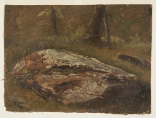 Drawing, Mossy Rock, August 1845