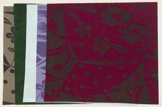 Wallpaper, Große Blätter