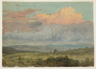 Drawing, Clouds, Hudson Valley, New York