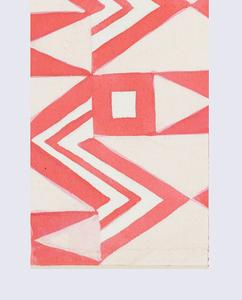 Drawing, Textile Design: Serpentin (Serpentine)