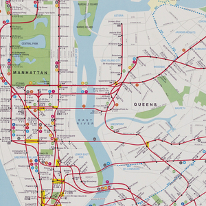 New York City Subway Map Poster.Poster Prototype For New York City Subway Map 1978 Images