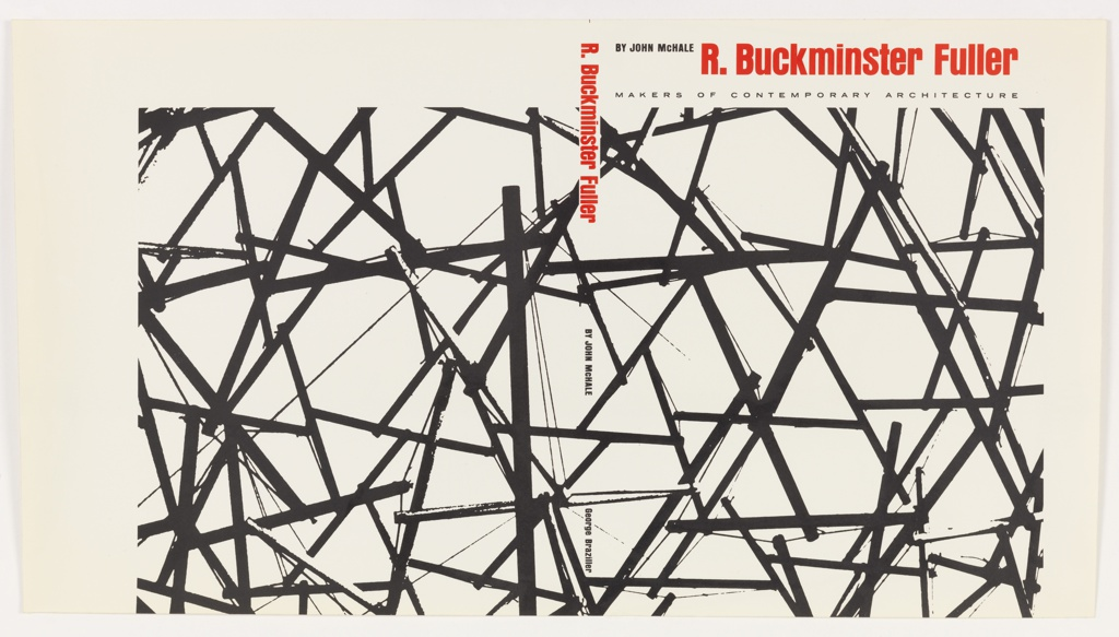 Both covers have a series of diagonal interconnected black lines against a white background.