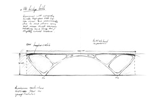 Sketch, Bridge Table, 2010