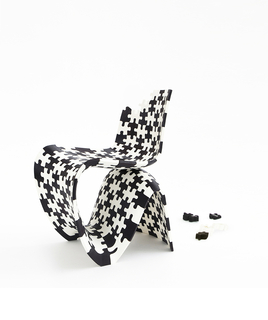 Chair, Puzzle Print, 2014