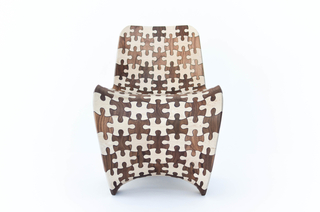 Chair, Puzzle Wood, 2014