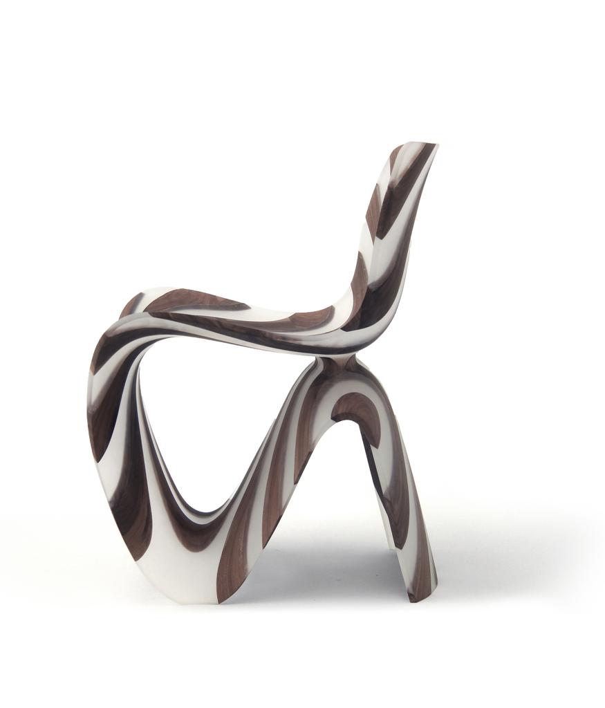 Chair, Diagonal Resin, 2014