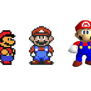 Laarman Object, The evolution of Super Mario, 2015