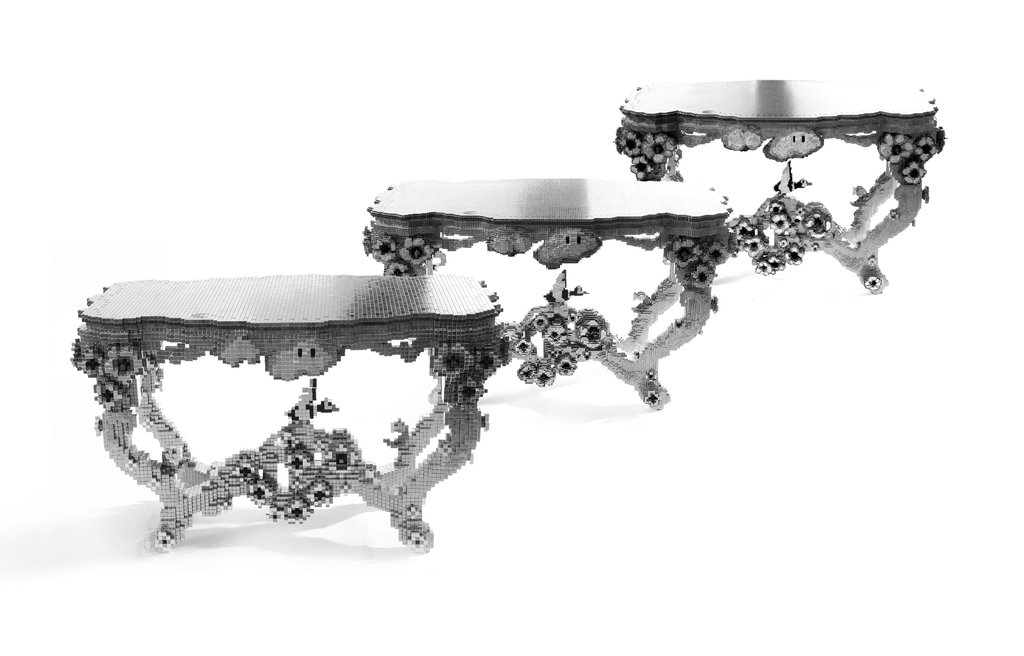 Table, Megavoxel, Digital Matter