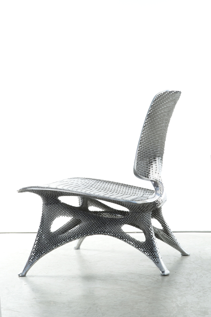 Chair, Aluminum Gradient, 2014