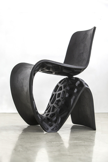 Chair, Voronoi Black, 2014