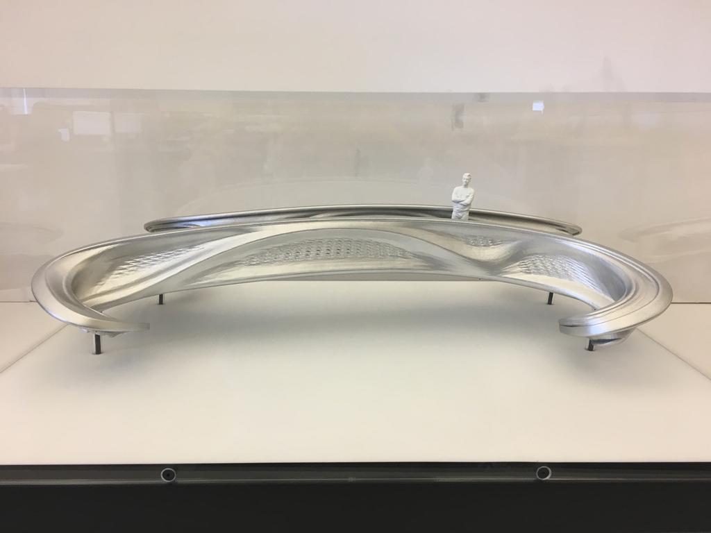 Scale Model (1:20), MX3D Bridge, 2017