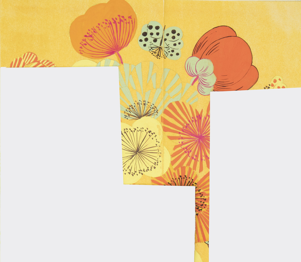 Drawing, Textile Design: Anemone