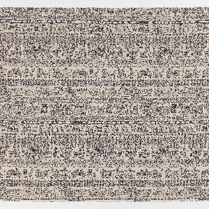 """Yard goods; a Signature Fabric, """"49'er"""" designed by Lamartine Le Goullon of Associated American Artists, 1955."""