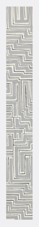 Geometric pattern consisting of a maze-like network of zigzag lines in gray, black, and white.