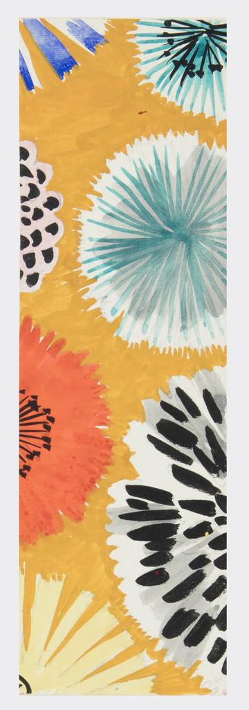 Drawing, Textile Design: Almira