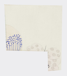 Drawing, Textile Design: Anemone