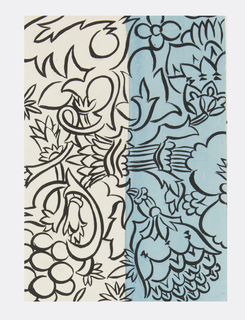 Drawing, Textile Design: Aussee