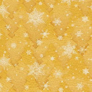 "Yard goods; a Signature Fabric, ""Snowflakes"" designed by Charlotte Sternberg of Associated American Artists, early to mid 1950s."