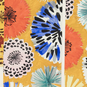 Drawing, Textile Design: Almira