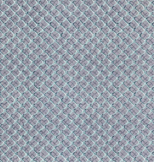 "Yard goods; a Signature Fabric, ""Fish Net"" designed by William Ward Beecher of Associated American Artists, 1953."