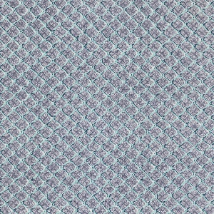 """Yard goods; a Signature Fabric, """"Fish Net"""" designed by William Ward Beecher of Associated American Artists, 1953."""