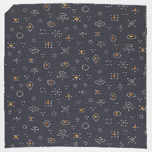 "Yard goods; a Signature Fabric, ""Magic Pearls"" designed by William Ward Beecher of Associated American Artists, 1953."