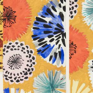 Drawing, Textile Design: Arina