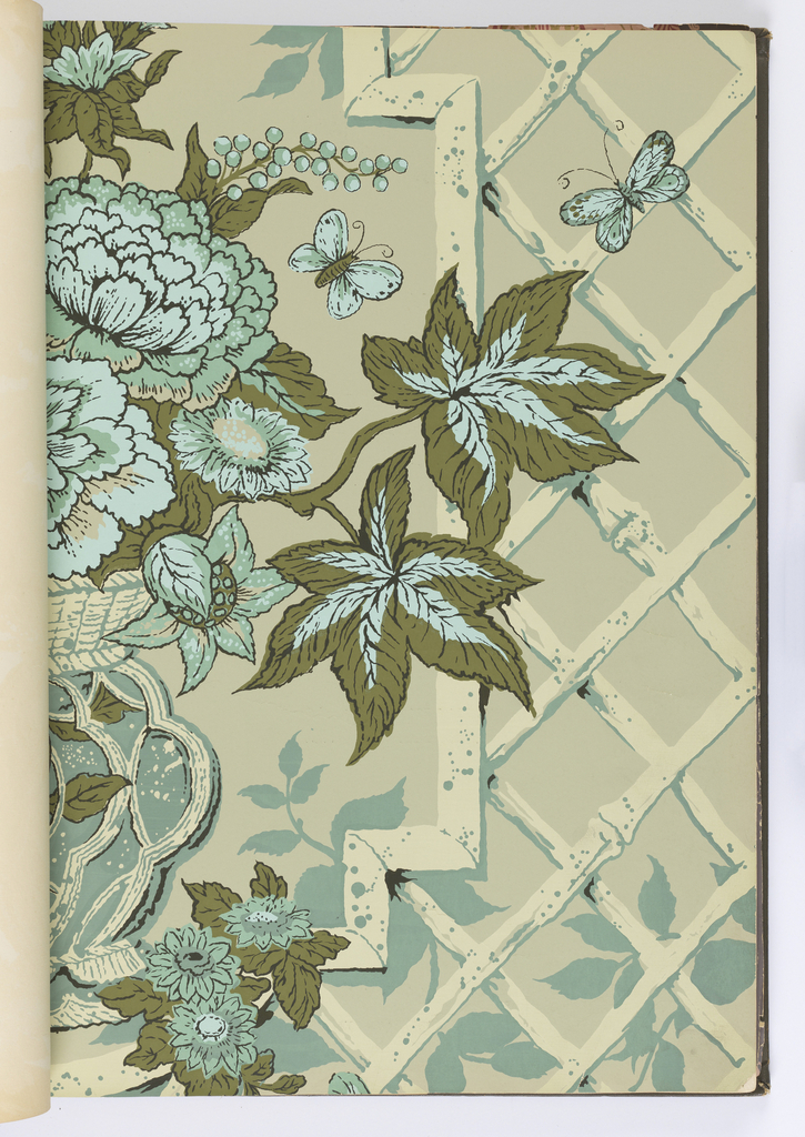 Samples of traditional patterns along with contemporary designs.