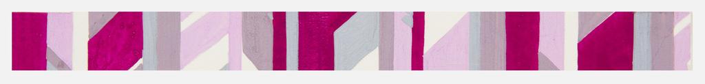 Drawing, Textile Design: Laubgewinde (Garland of Leaves)