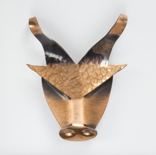 Brooch in the shape of a bull