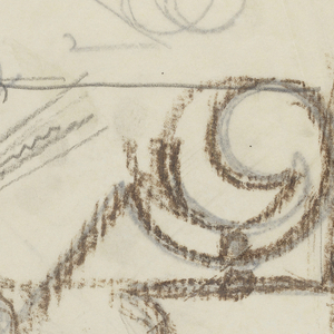 Designs for a variety of ornamental brackets to be executed in iron.