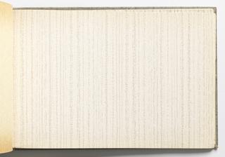 Sample Book, Strie, 1960