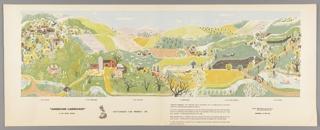 Mural Miniature, American Landscape