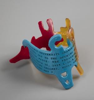"Columbia University Exhibition ""The Presence of Objects"" Invitation Bracelet"