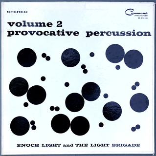 Album Cover, Provocative Percussion, Volume 2, 1961