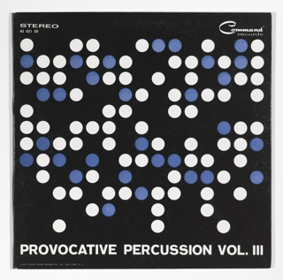 Record Cover, Provocative Percussion, Vol. III