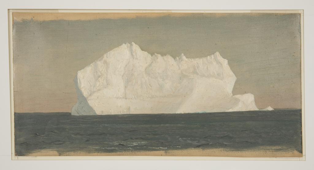 Drawing, Floating Iceberg