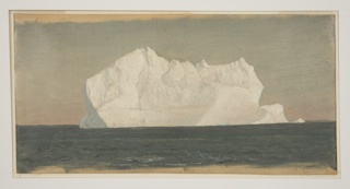 Drawing, Floating Iceberg