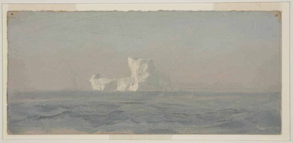 Drawing, Off Iceberg, Newfoundland