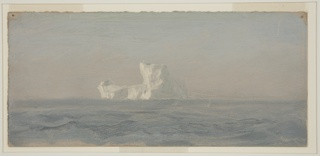 Drawing, Off Iceberg, Newfoundland