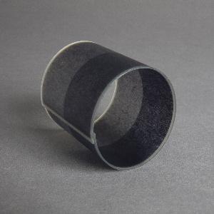 Cuff bracelet  in tones of gray.
