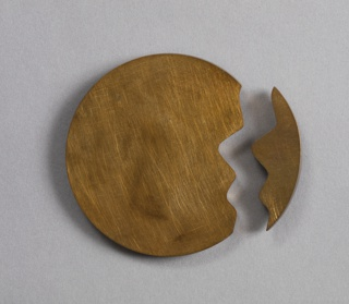 NOT TITLED 7 Two-part Brooch
