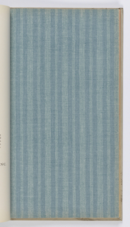 Collections of Williamsburg wallpaper reproductions and commemorative paperhangings, bound in hard white linen covers.