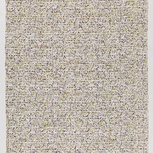 "Yardage; a Signature Fabric, ""Hindustani"" designed by Piero Dorazio of Associated American Artists, 1954."