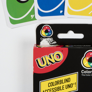 Card Game, UNO ColorADD
