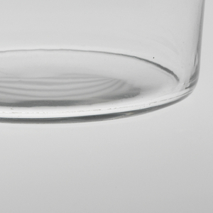 """Thinnest mouth-blown crystal (""""Muslin glass"""") water tumbler."""