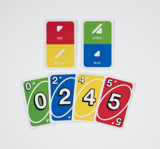 Card Game, UNO ColorADD, 2017