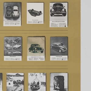Indelible Images - 20 Years of Volkswagen Advertising, a Permanent Collection in the Archives of the Cooper-Hewitt Museum