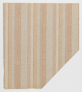 Imitation of a woven stripe design.