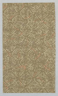 Sidewall - Sample, The S.M. Hexter Connoisseur Collection of Hand Print Wallpaper and Fabric, 1953–58
